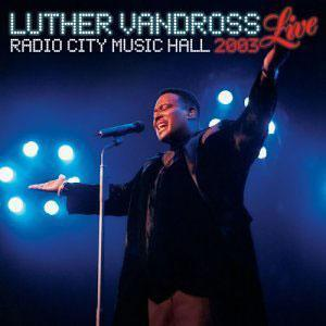Front Cover Album Luther Vandross - Live At Radio City Hall