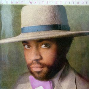 Album  Cover Lenny White - Attitude on ELEKTRA Records from 1983