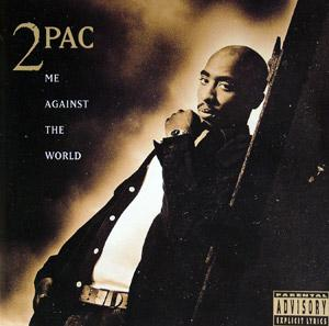 Front Cover Album 2pac - Me against the World
