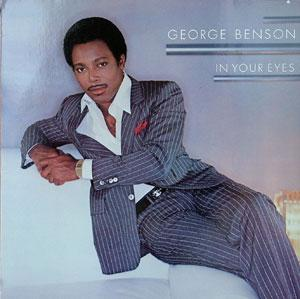 Front Cover Album George Benson - In Your Eyes