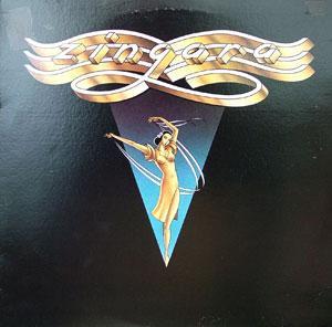 Album  Cover Zingara - Zingara on CASTLE Records from 1981