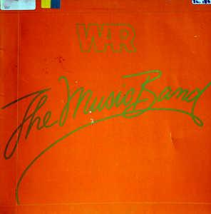 Album  Cover War - The Music Band on MCA Records from 1979