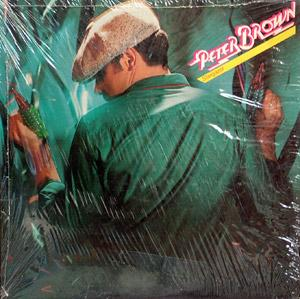 Album  Cover Peter Brown - Stargazer on TK Records from 1979