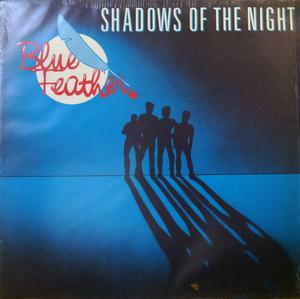 Front Cover Album Blue Feather - Shadows Of The Night