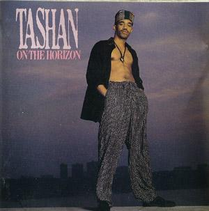Album  Cover Tashan - On The Horizon on CBS Records from 1989