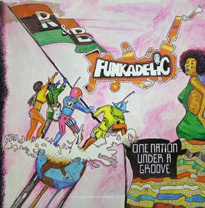 Album  Cover Funkadelic - One Nation Under A Groove on PRIORITY Records from 1978