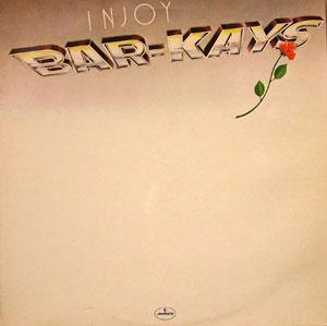 Front Cover Album The Bar Kays - Injoy