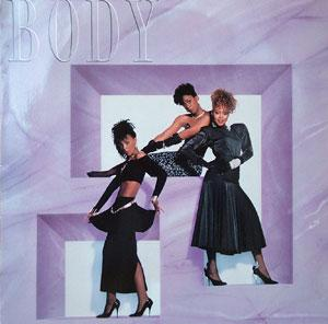 Album  Cover Body - Body on MCA Records from 1987