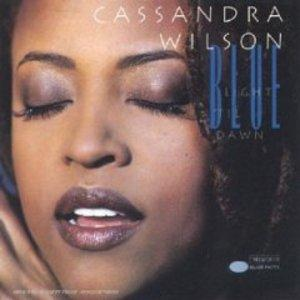 Front Cover Album Cassandra Wilson - Blue Light Til Dawn