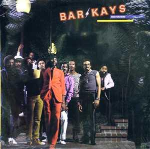 Front Cover Album The Bar Kays - Nightcruising