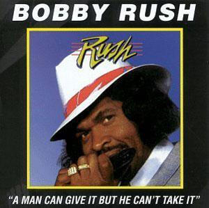Album  Cover Bobby Rush - Man Can Give on LA JAM Records from 1990