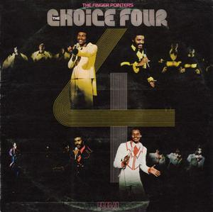 Album  Cover The Choice Four - The Finger Pointers on RCA VICTOR Records from 1974