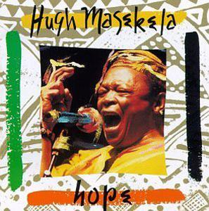 Album  Cover Hugh Masekela - Hope on TRILOKA Records from 1993