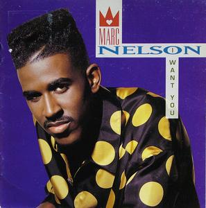 Album  Cover Marc Nelson - I Want You on CAPITOL Records from 1991
