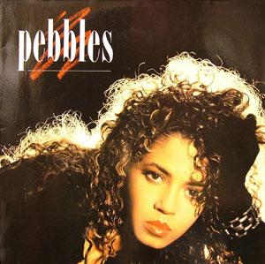 Album  Cover Pebbles - Pebbles on MCA Records from 1987