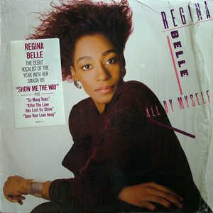 Album  Cover Regina Belle - All By Myself on COLUMBIA Records from 1987