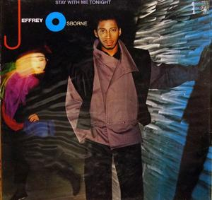 Album  Cover Jeffrey Osborne - Stay With Me Tonight on A&M Records from 1983