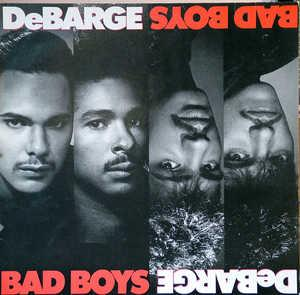 Album  Cover Debarge - Bad Boys on STRIPED HORSE Records from 1987