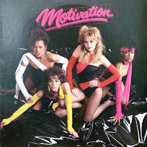 Album  Cover Motivation - Motivation on DELITE Records from 1983