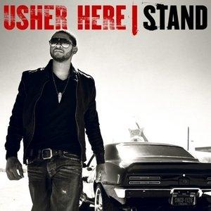 Album  Cover Usher - Here I Stand on LAFACE / ZOMBA Records from 2008