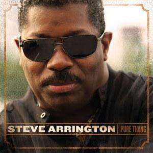 Album  Cover Steve Arrington - Pure Thang on GOD FACTOR Records from 2009