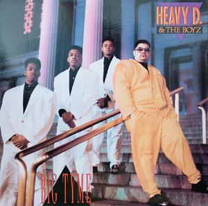 Album  Cover Heavy D & The Boyz - Big Tyme on UPTOWN Records from 1989