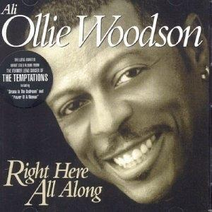 Album  Cover Ali Ollie Woodson - Right Here All Along on EXPANSION Records from 2001