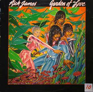 Album  Cover Rick James - Garden Of Love on GORDY Records from 1980