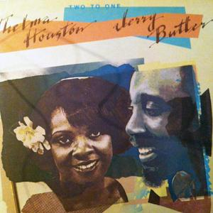 Front Cover Album Jerry Butler - With Thelma Houston: Two To One