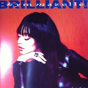 Album  Cover Kym Mazelle - Brilliant!! on EMI Records from 1991