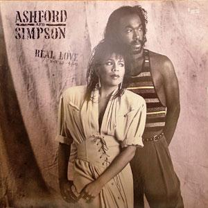 Album  Cover Ashford & Simpson - Real Love on CAPITOL Records from 1986