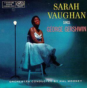 Front Cover Album Sarah Vaughan - Sings George Gershwin