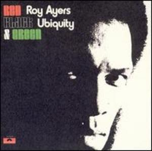 Front Cover Album Roy Ayers - Red, Black & Green