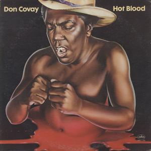 Album  Cover Don Covay - Hot Blood on MERCURY Records from 1974