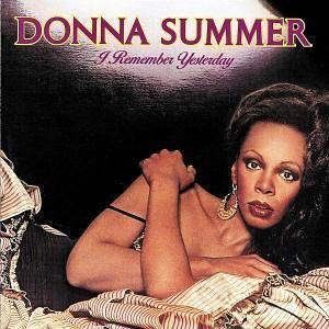 Front Cover Album Donna Summer - I Remember Yesterday