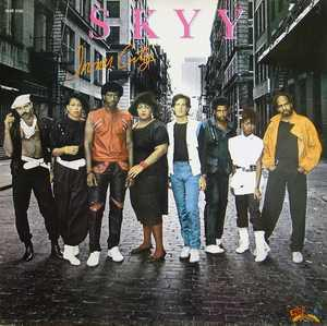 Album  Cover Skyy - Inner City on SALSOUL Records from 1984
