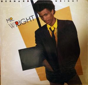 Album  Cover Bernard Wright - Mr. Wright on MANHATTAN Records from 1985