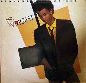 Album  Cover Bernard Wright - Mr. Wright on MANHATTAN Records from 1985