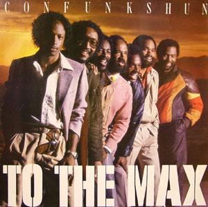 Album  Cover Con Funk Shun - To The Max on MERCURY Records from 1982