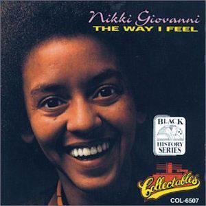 Album  Cover Nikki Giovanni - The Way I Feel on ATLANTIC Records from 1975