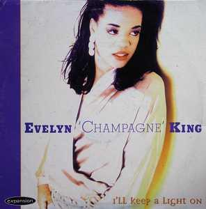 Album  Cover Evelyn 'champagne' King - I'll Keep A Light On on EXPANSION Records from 1995
