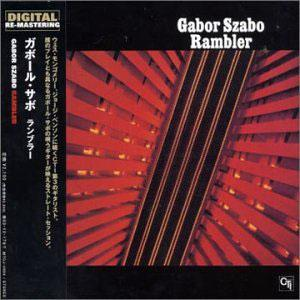 Album  Cover Gabor Szabo - Rambler on CTI Records from 1973