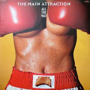 Front Cover Album The Main Attraction - All The Way
