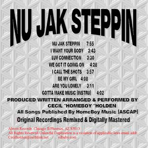 Album  Cover Homeboy & The Col - Nu Jak Steppin on CECIL O. LYDE Records from 2006