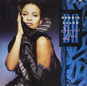 Album  Cover Debbie Allen - Special Look on MCA Records from 1989