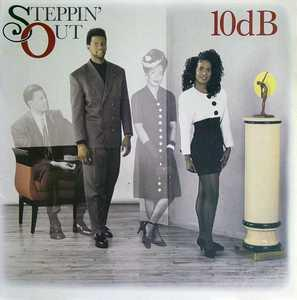 Album  Cover 10db - Steppin' Out on CRUSH Records from 1989