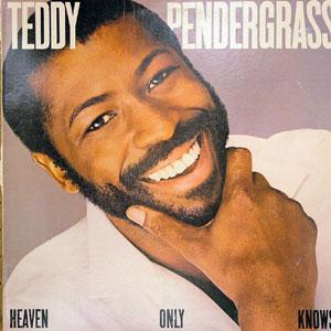 Front Cover Album Teddy Pendergrass - HEAVEN ONLY KNOWS