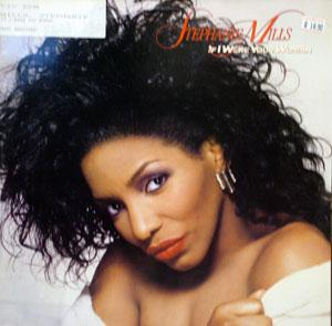 Album  Cover Stephanie Mills - If I Were Your Woman on MCA Records from 1987