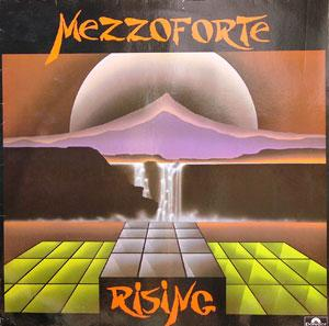 Album  Cover Mezzoforte - Rising on POLYDOR Records from 1984