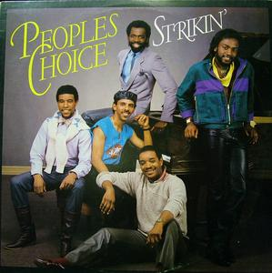 Album  Cover People's Choice - Strikin' on MERCURY Records from 1984